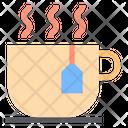 Hot Tea Teabag Cup Icon