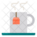 Hot Tea Beverage Restaurant Icon