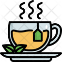 Hot Tea Green Icon