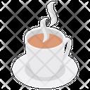 Hot Tea Teacup Breakfast Icon