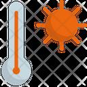 Temperature Sun Warm Icon