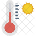 Meteorology Outdoor Thermometer Temperature Gauge Icon