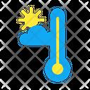 Temperature Sun Climate Hot Temperate Freezing Temperature Temperature Icon