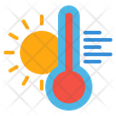 Hot Thermometer Icon