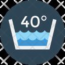 Hot Water Temperature Icon