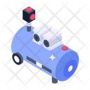 Hot Water Tanker Icon