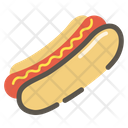Hotdog Food Sausage Icon