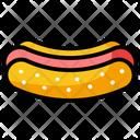 Hotdog Hotdog Sandwich Fast Food Icon