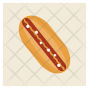 Hotdog Veggie Vegetable Icon