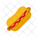 Hotdog Fastfood Sausage Icon