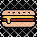 Hotdog Sausage Meat Icon