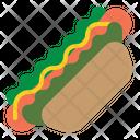 Dessert Food Hotdog Icon