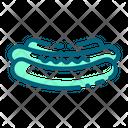 Hotdog Sausage Fastfood Icon