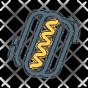 Hotdog Sausage Hot Icon