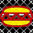 Hotdog Hotdog Burger Sausage Icon