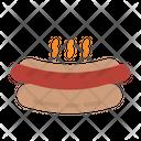 Hotdog Bun Food Icon