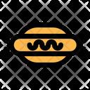 Hotdog Oktoberfest Festival Icon