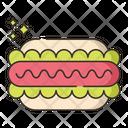 Hotdog Burger Fastfood Icon