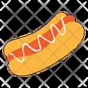 Hotdog Sausage Food Icon