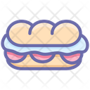 Hotdog Mexican Food Icon