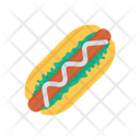 Wrap Shawarma Fast Food Icon