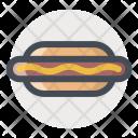 Hotdog Frank Food Icon