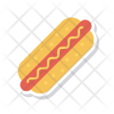 Hotdog Bread Fastfood Icon