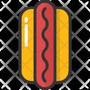 Hotdog Sandwich Food Icon