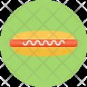 Hotdog Bread Snack Icon