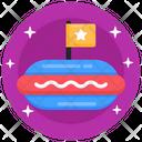 Hotdog Burger Icon
