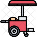 Hotdog cart Icon