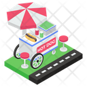 Hotdog Cart Icon