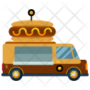 Hotdog Truck Food Icon