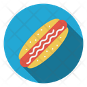 Hotdogs Fastfood Meal Icon