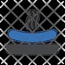 Hotdogs Dish Meal Icon