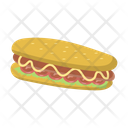 Hotdogs Sausage Fastfood Icon