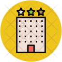 Hotel Three Star Icon
