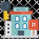 Accommodation Hotel Rest House Icon