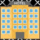 Hotel Building Architecture Icon