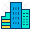 Hotel Guest House Building Icon