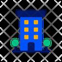Hotel Room Restaurant Icon