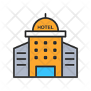 Hotel City Hotel Building Icon