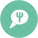 Hotel Chat Bubble Icon