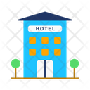 Hotel Hotel Building Guest House Icon