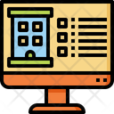 Hotel Reserve Reservation Icon