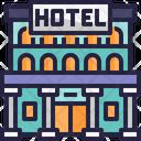 Hotel Five Star Hotel Restaurant Icon