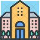 Hotel Accommodation Building Icon