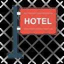 Hotel Board Sign Icon