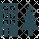 Building Hotel Lodge Icon