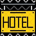 Hotel Travel Tourism Icon